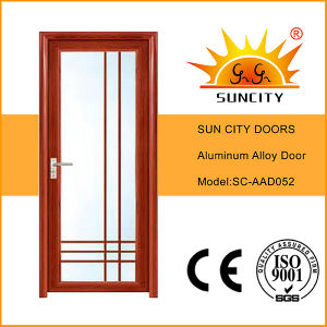 Economic Cheaper Toilet Aluminum Alloy Swing Doors (SC-AAD052) pictures & photos
