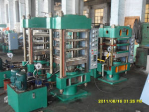 Plate Vulcanizer Press (4Column) (XLB-0.10mn) pictures & photos