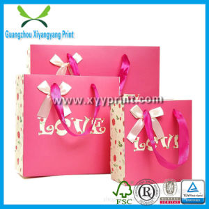 Fashion Custom Size And Logo Paper Gift Bags Wholesale