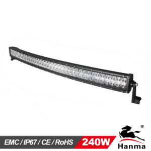 Spot or Flood 41inch 240W Curved LED Light Bar