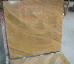 Yellow Stone Polished Marble for Countertop/Slab/Flooring pictures & photos