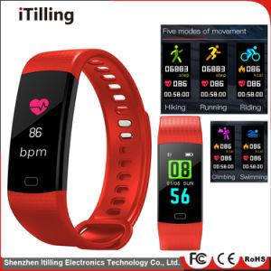 2018 New China Manufacturer Wholesale Bluetooth Smart Bracelet Band Fitness  Tracker Ce RoHS Smart Watch