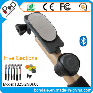 with Mirror Aluminum Selfie Stick and Bluetooth Shutter with Cell Phone