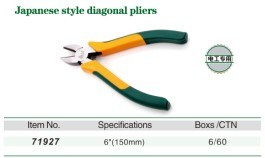 Japanese Style Diagonal Pliers