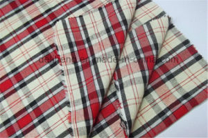 Cheap T/C Yarn Dyed Checks Wholesale Clothing Fabric