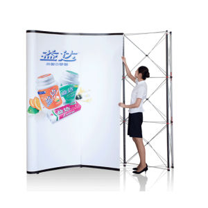 Self Locking Pop up Display Stand V2 pictures & photos
