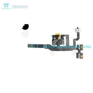 Wholesale Earphone Jack Audio Flex Cable for iPhone 4S pictures & photos