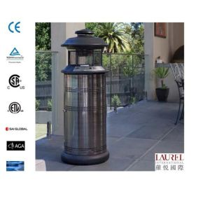 Round Standing Retractable Flame Patio