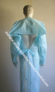 CPE Gown, PE Gown Disposable Plastic Gown, CPE Isolation Gown with Open Cuff