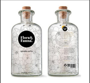 Rum Glass Bottle From China (750ml)