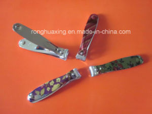 N-315L Flower Pattern Carbon Steel Toe Nail Clipper pictures & photos