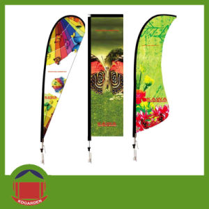 Cheap Polyester Advertising Flag for Promotion pictures & photos