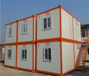Good Windproof Folding Container House for Mining Industries pictures & photos