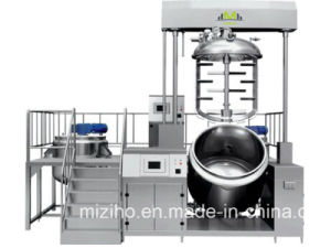Cream Ointment Soft Gel Vacuum Emulsifying Mixer in China pictures & photos