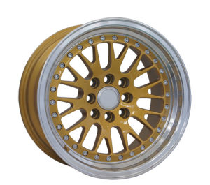 Gold or Silver Machine Lip BBS Alloy Wheel (LW215) pictures & photos