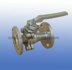 Floating Ball Valve with Flange Connection Pn20 pictures & photos