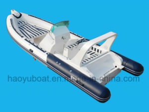 25feet 7.6m Inflatable Boat, Rescure Boat, Fishing Boat, Rigid Hull Boat, PVC or Hypalon pictures & photos