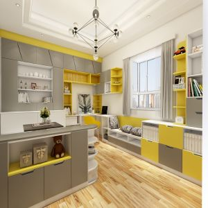 yellow and grey furniture. Colorful Grey Yellow White Modern Furniture Living Room Wardrobe And U