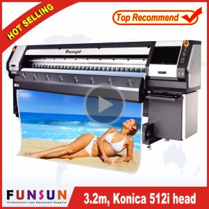 720 Dpi Phaeton Funsunjet Fs-3208K Flex Banner Printer for Outdoor Large Size Printing pictures & photos