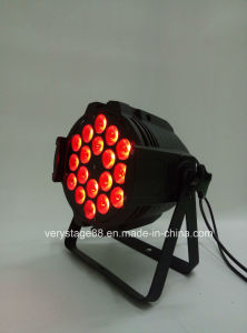 Indoor 18X12W RGBWA DMX Stage LED PAR Light pictures & photos