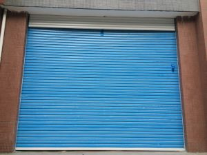 Galvanized Stainless Steel Security Roller Shutter Doors pictures & photos
