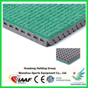 University Stadium Prefabricated Synthetic Rubber Running Track Material pictures & photos