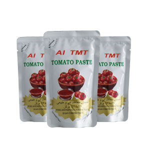 Halal Certificate 70g Sachet Tomato Paste pictures & photos