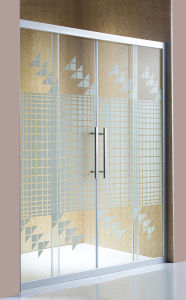 Simple Shower Screen Glass Shower Door pictures & photos