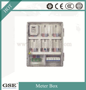Prepaid Electric Meter Box/Single Phase Electric Meter with 3c and Ce Certificate pictures & photos