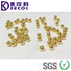 Gold Plated Stainless Steel Ball pictures & photos