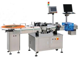 Full Automatic Vertical Round Bottle Labeling Machine pictures & photos