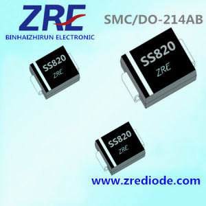 8A Schottky Barrier Rectifier Diode Ss82 Thru Ss820 SMC-Do/214ab Package pictures & photos