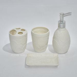 China 4 Piece White Ceramic Bathroom Set China Bathroom Set