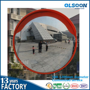 Olsoon 100-1200mm Diameter Customized Convex Mirror Acrylic Concave Convex Mirror pictures & photos