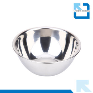 High Quality Multi-Size SGS Stainless Steel Deep Mixing Bowl Set pictures & photos