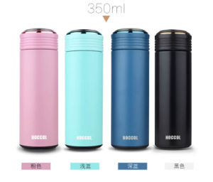 17oz, 500ml Portable Double Wall 18/8 304 Stainless Steel Vacuum Flask Thermos pictures & photos