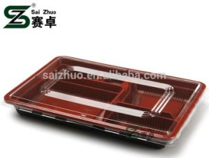 5 Compartment PP Material Food Container with Lid (999ml) pictures & photos