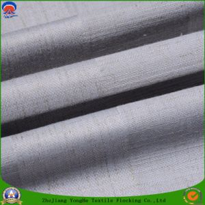 Home Textile Coated Waterproof Fr Blackout Woven Polyester Curtain Fabric