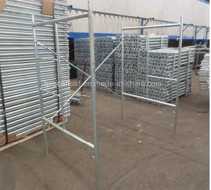 Ladder/Mason Steel Frame Scaffolding for Construction
