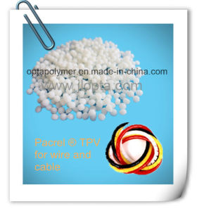 Santoprene Equivalent Granule Pacrel TPV for Wire and Cable pictures & photos