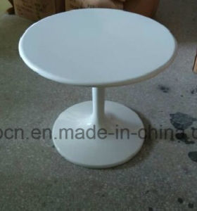 Leisure Glossy White Eero Saarinen Tulip Table for Different Sizes (SP-GT112) pictures & photos