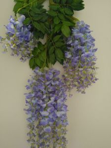 Holiday Decoration Craft Artificial Wisteria Flower pictures & photos