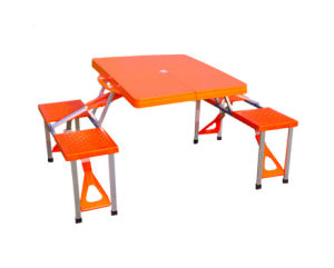 c94d6196db4 China ABS Plastic Portable Outdoor Conjoined Folding Tables and ...