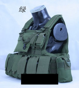 Military Classical USA Design Quick-Release Multi-Pockets Tactical Bullet-Proofvest pictures & photos
