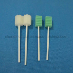 Impregnated Mdeical Disposable Swab Stick pictures & photos