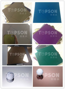201 304 316 Metal Sheet Stainless Steel Sheet with 8k Mirror Colored for Decoration