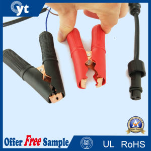Power Supply Cord Connector Jumper Cable with Clip pictures & photos