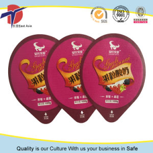 Customized Printed Aluminium Foil Lids for Plastic Containers pictures & photos