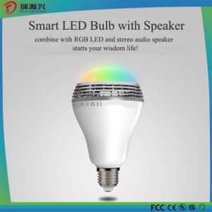 Wireless LED Lights with Bluetooth Speaker