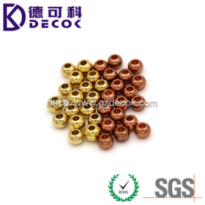 Good Quality Factory Price Eco-Friendly Fashionable Plated Hole Ball 316L Stainless Steel Jewelry pictures & photos